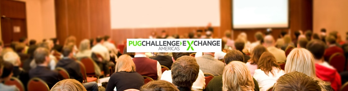 PUG Challenge Exchange Americas 2016 Event Banner