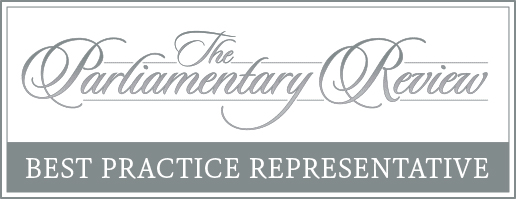 The Parliamentary Review - Best Practive Representative Badge