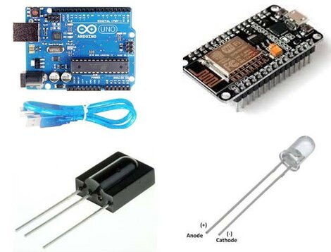 Hardware Required for IoT Smart AC Controller