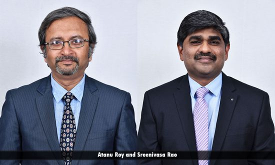 Mr. Atanu Roy & Mr. Sreenivasa Rao Sunkari, JK Tech