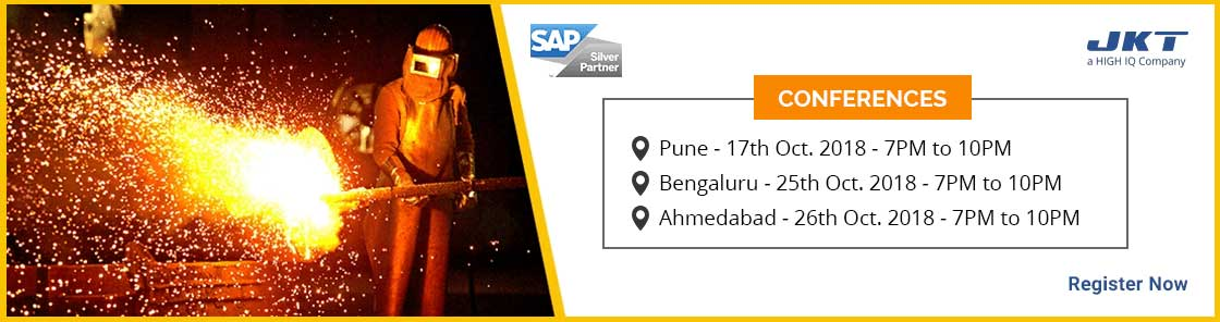 Transform Your Business With SAP S/4HANA Event Banner