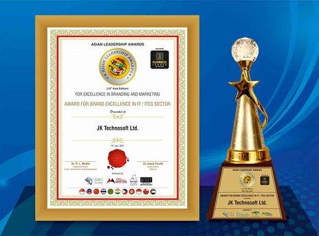 JK Tech Awarded for Brand Excellence in Asian Leadership Awards 2021